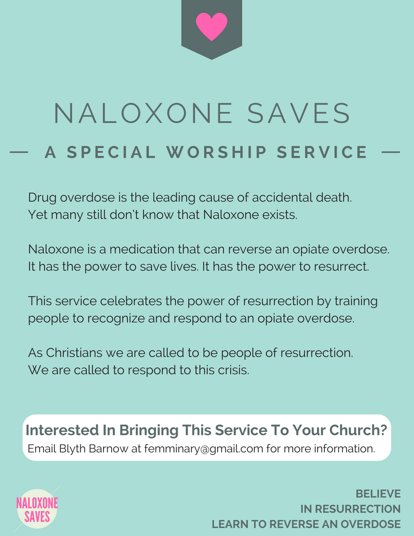Naloxone Saves Flyer