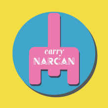 Sticker. Narcan